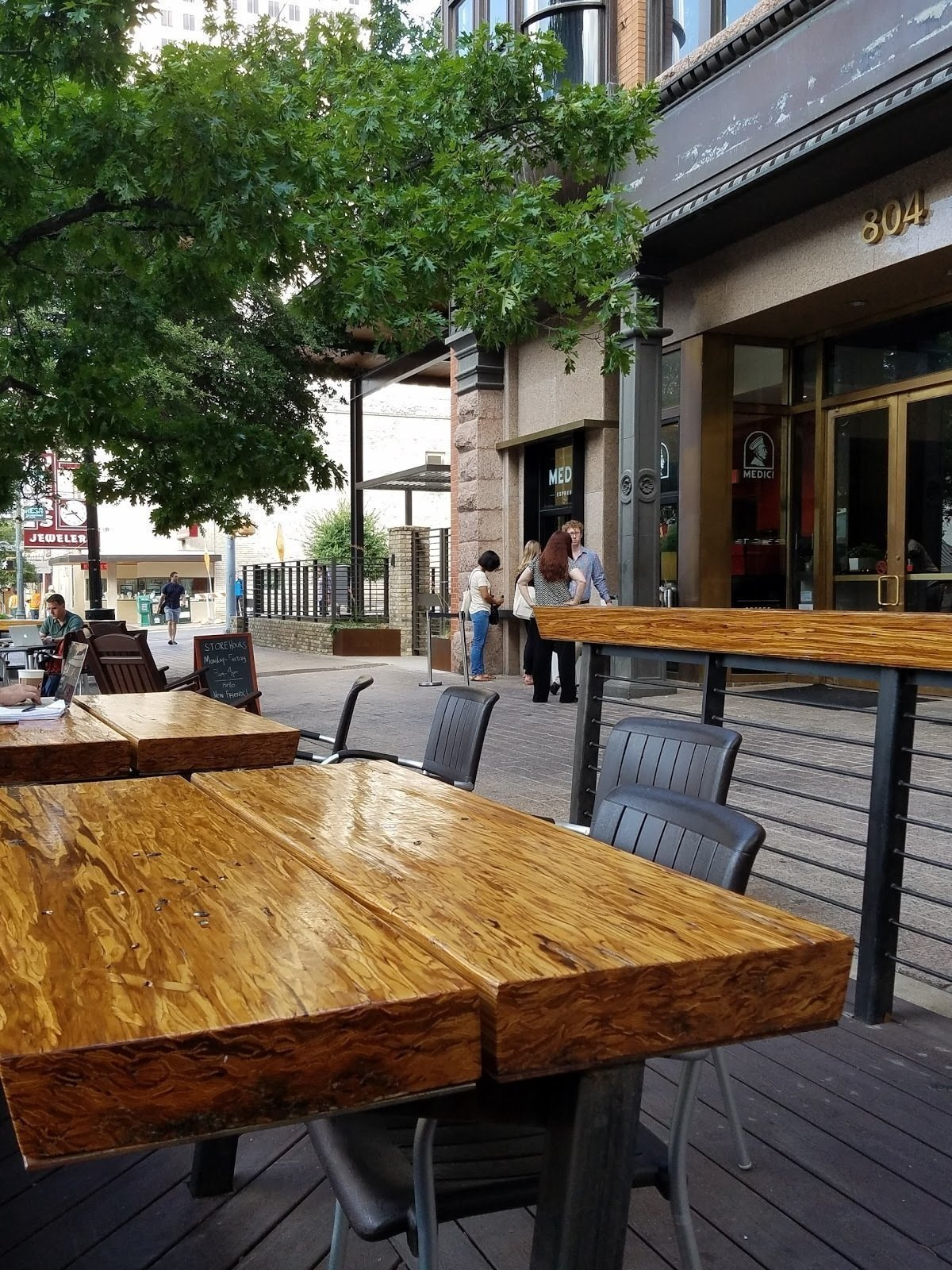 Cafe Medici: A Work-Friendly Place in Austin