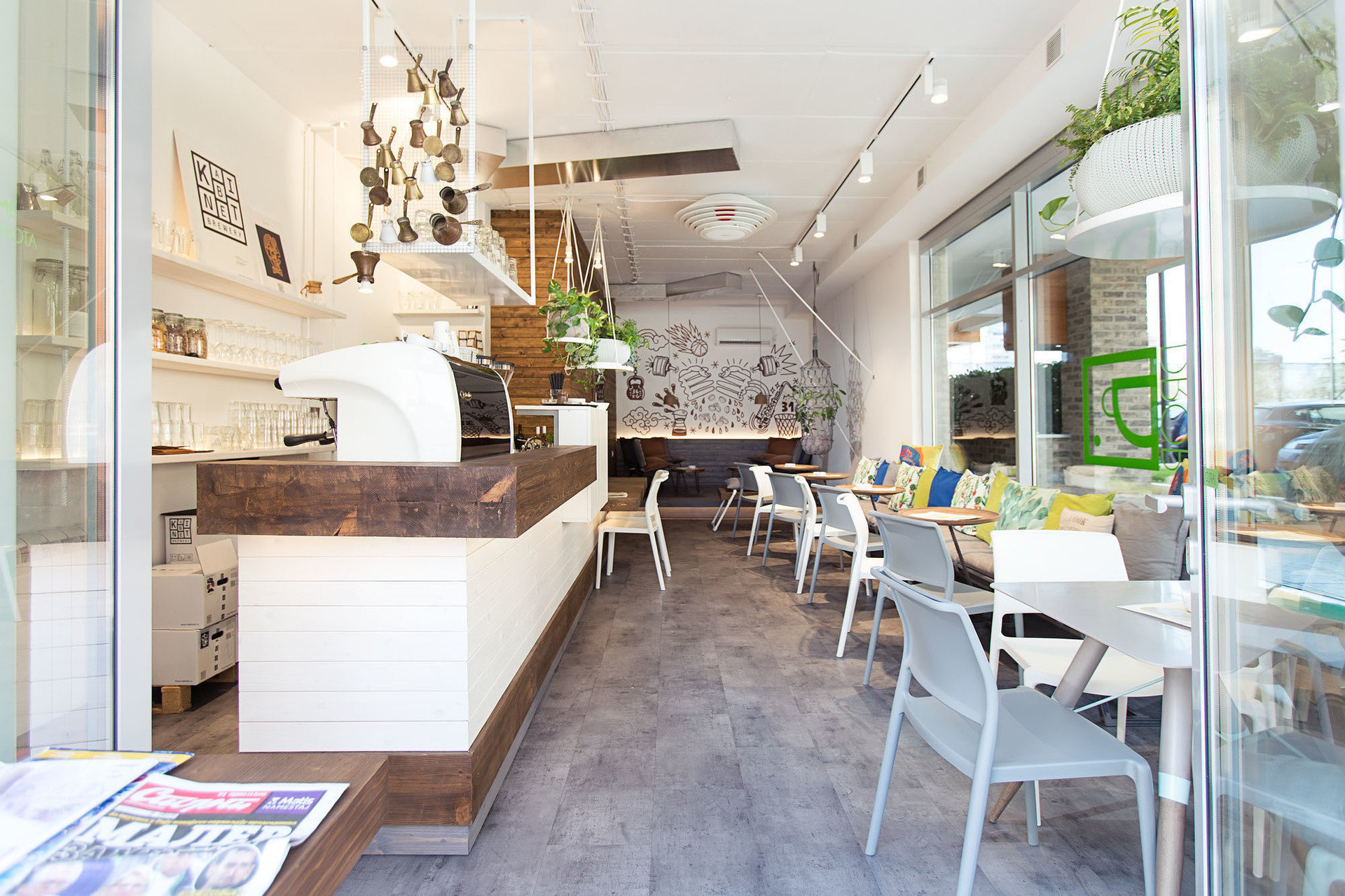 Drop Caffe: A Work-Friendly Place in Belgrade