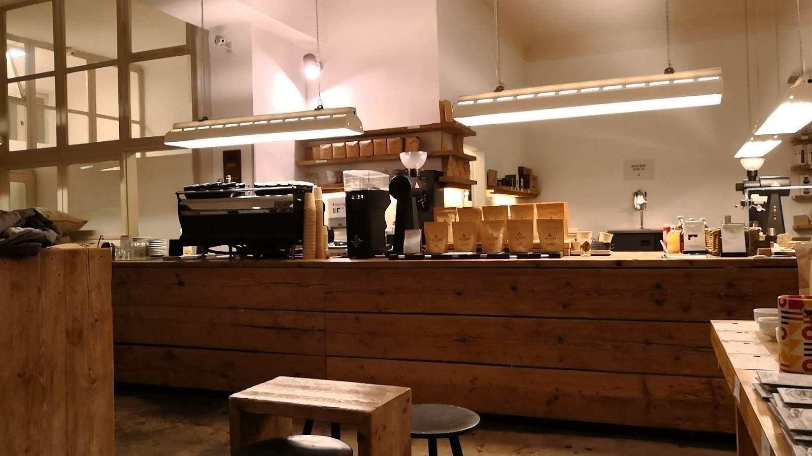 THE BARN Roastery: A Work-Friendly Place in Berlin
