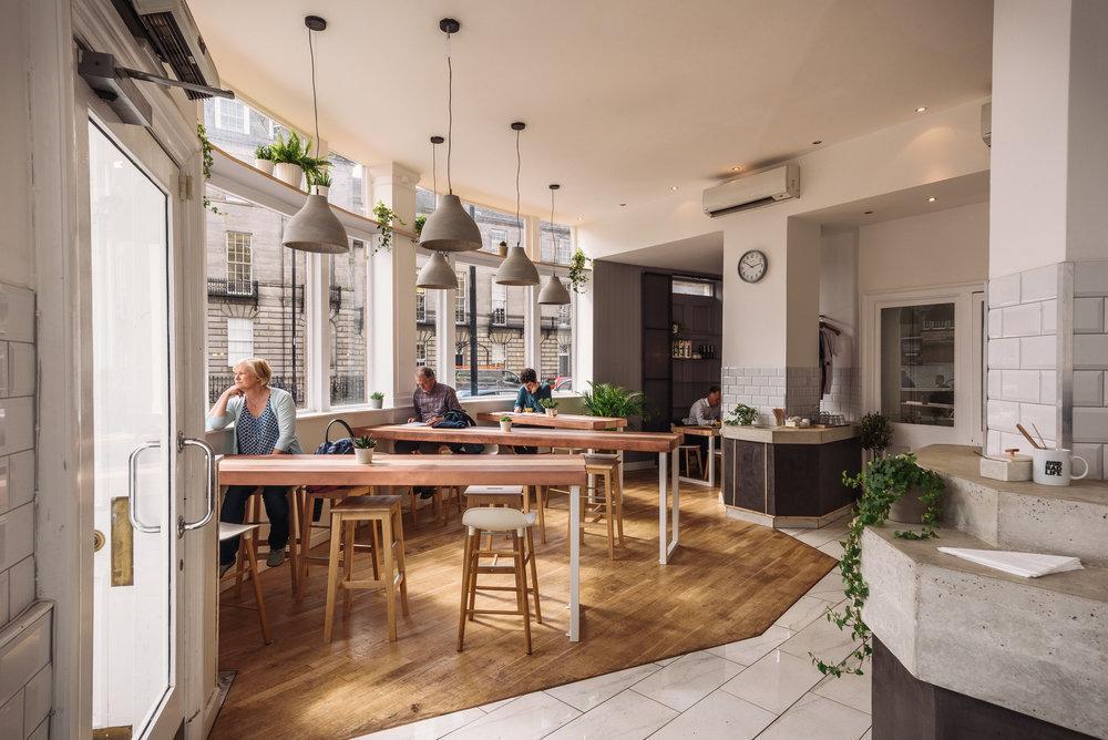 Cairngorm Coffee Co.: A Work-Friendly Place in Edinburgh