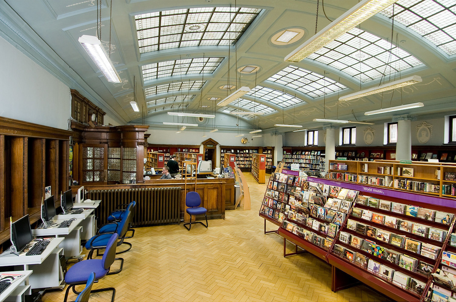 Bethnal Green Library: A Work-Friendly Place in London