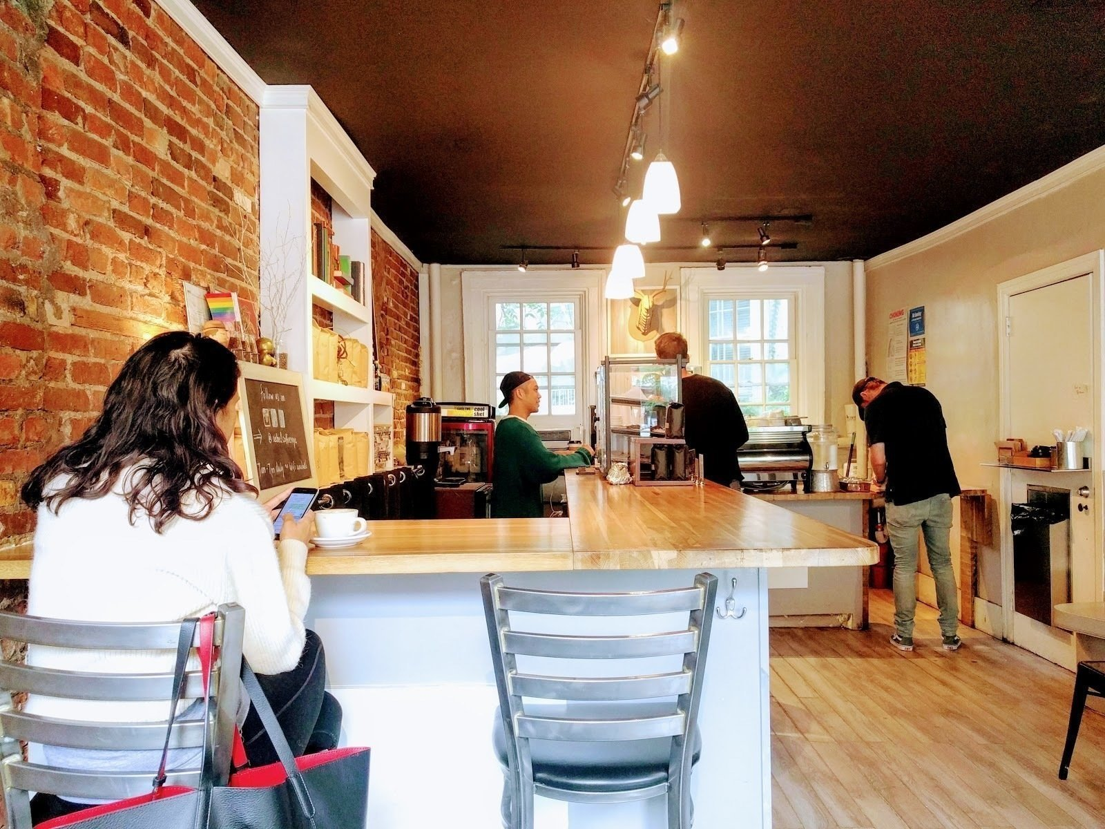 Rebel Coffee: A Work-Friendly Place in New York