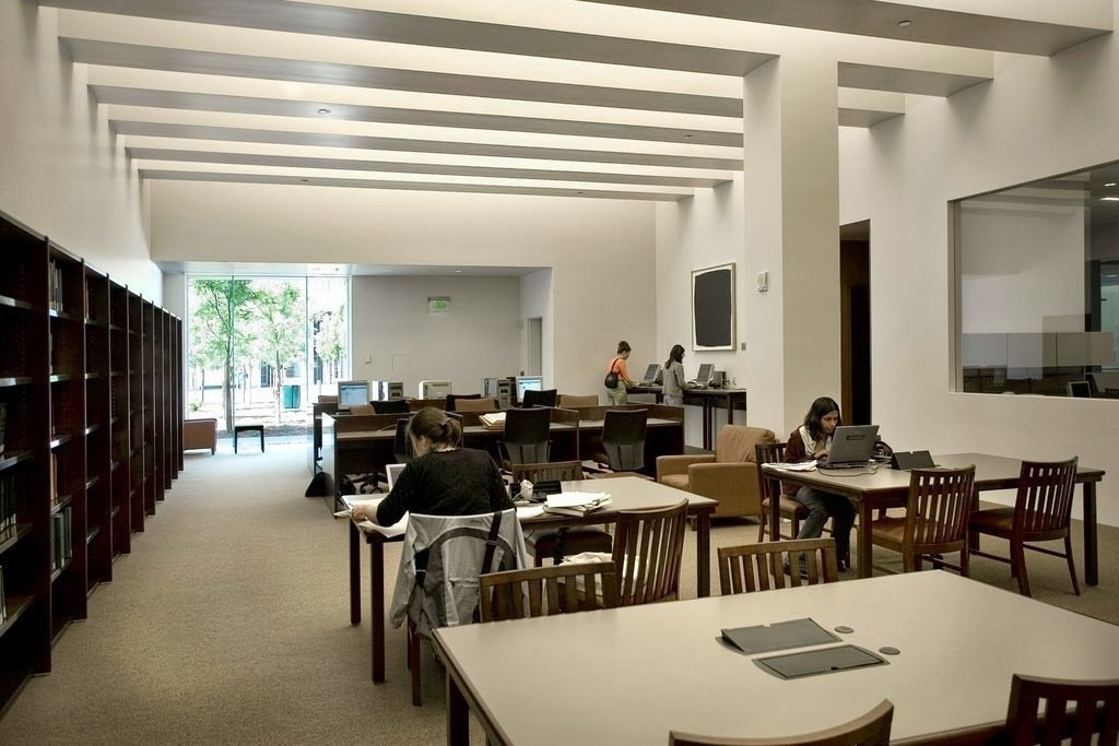 UCSF Mission Bay FAMRI Library: A Work-Friendly Place in San Francisco