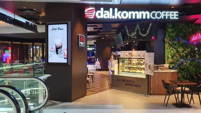dal.komm.COFFEE @ Funan Mall