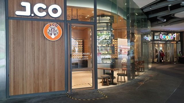 J.Co Donuts & Coffee @ Bugis+