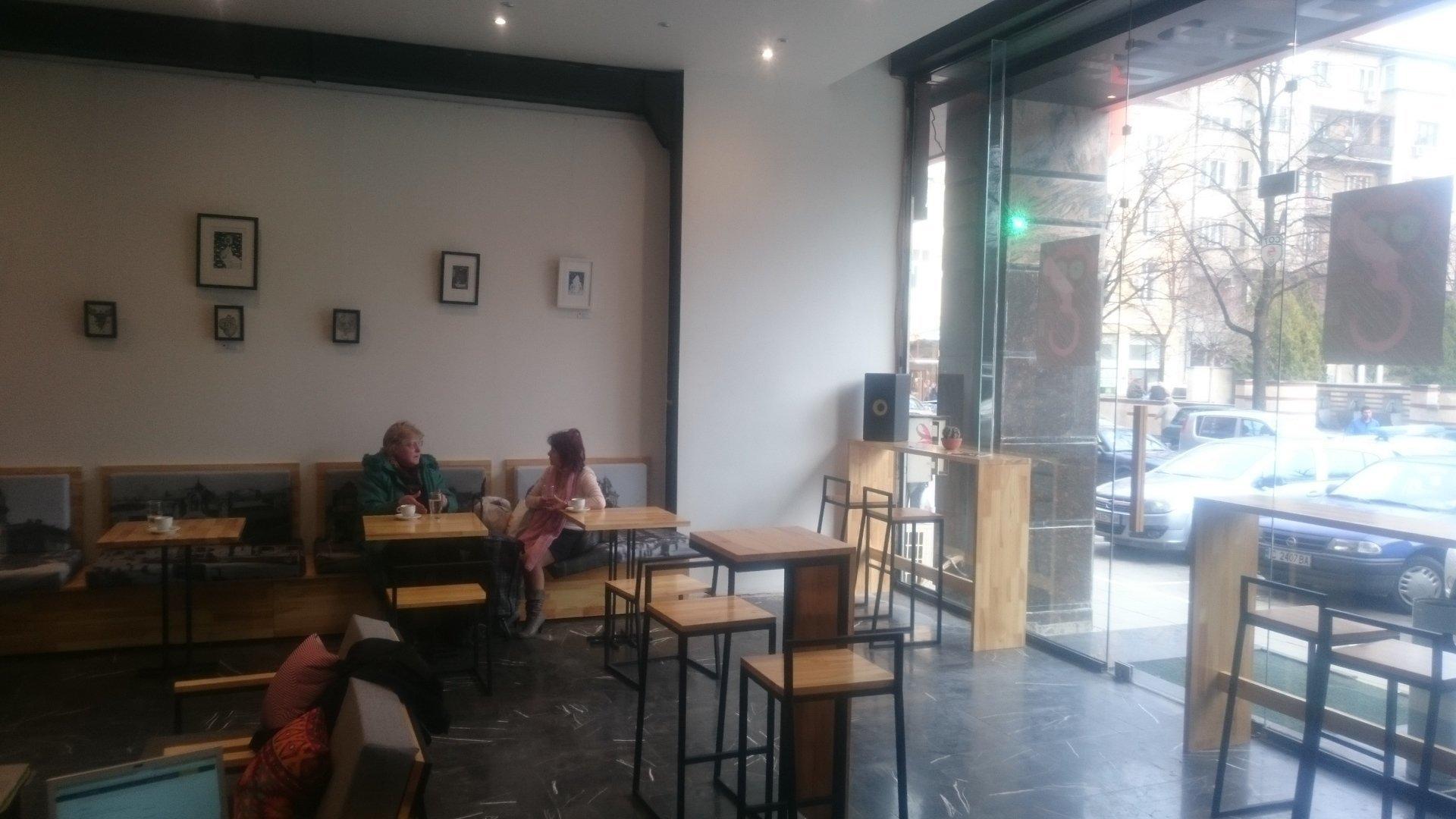 Cush.Bar: A Work-Friendly Place in Sofia