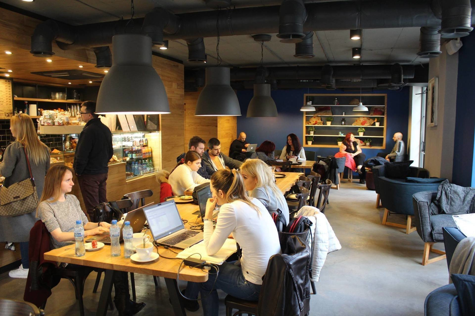 From Barista Coffee And More: A Work-Friendly Place in Sofia