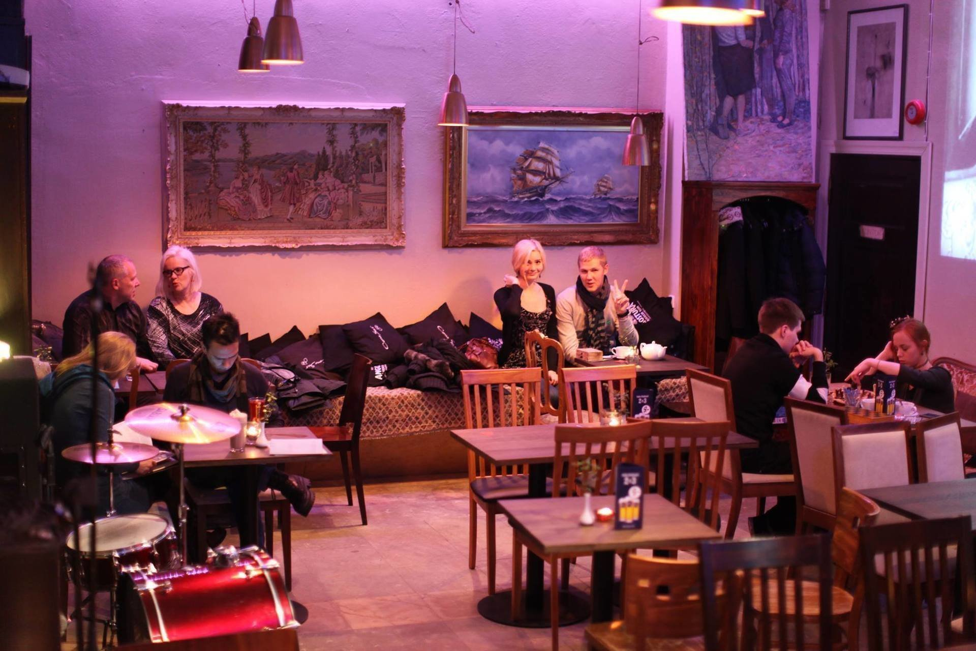 Art Cafe Tallinn: A Work-Friendly Place in Tallinn
